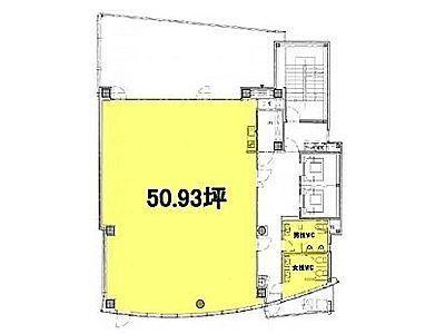 AD市ヶ谷ビル 9階間取りのサムネイル画像