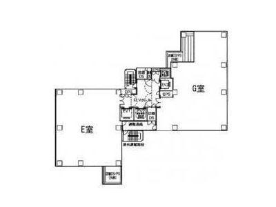 アルボーレ銀座(ALBORE GINZA) 9階E(店舗限定)間取りのサムネイル画像