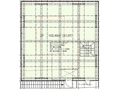 (仮称)表参道3919プロジェクト 1階(店舗可)間取りのサムネイル画像