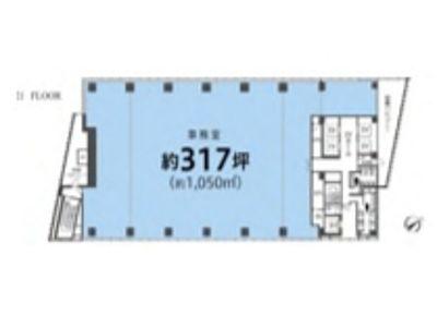 神宮前タワービルディング 20階間取りのサムネイル画像