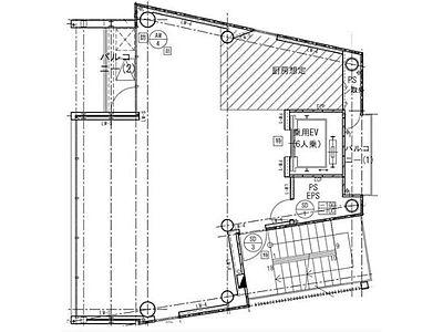 ACN渋谷道玄坂ビル 地下1階(店舗限定)間取りのサムネイル画像