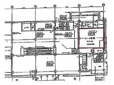 2階2-6(店舗限定)の間取り画像