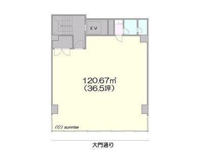 バッカス第3ビル 2階間取りのサムネイル画像