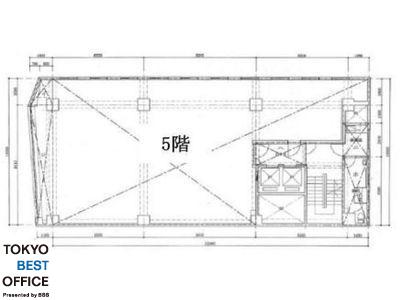 市橋ビル 5階間取りのサムネイル画像