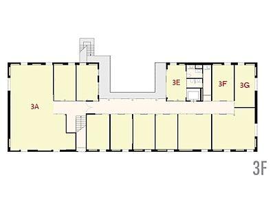 FLAG神宮前 3階F間取りのサムネイル画像