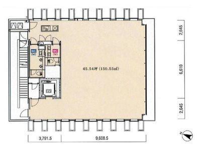 KKDビル 6階間取りのサムネイル画像