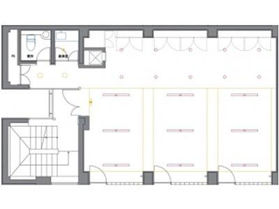 ユーメリアビル 2階間取りのサムネイル画像