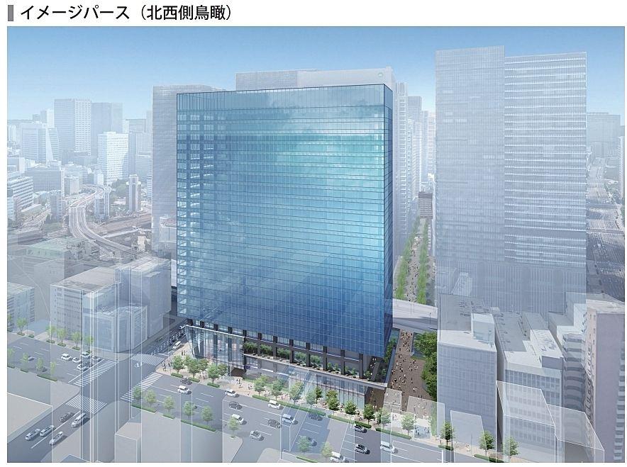 (仮称)内神田一丁目プロジェクト 竣工パース