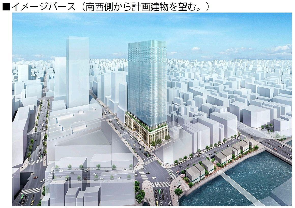 日本橋室町一丁目地区第一種市街地再開発事業 竣工イメージパース