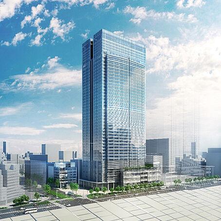 東京ミッドタウン八重洲 竣工パース