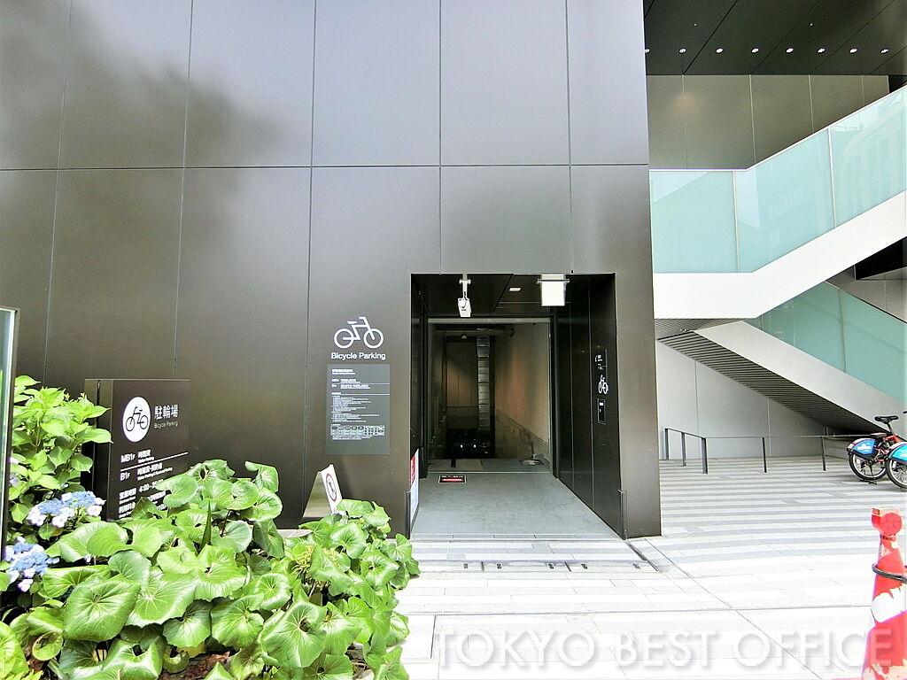 CO・MO・RE YOTSUYA(コモレ四谷)駐輪場